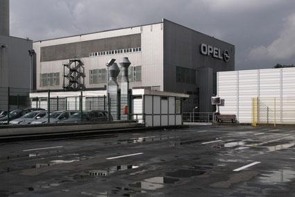 Fábrica alemã da Opel em http://www.hebig.org